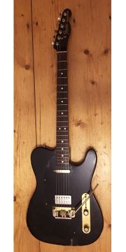 Fender Telecaster Black-Gold USA 80s