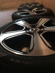 Mercedes Benz Alufelgen mit Winterreifen