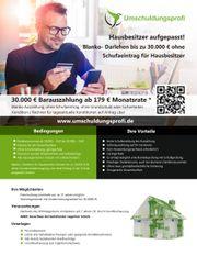 Schufafreier Kredit Hausbesitzer Finanzierung Blankokredit