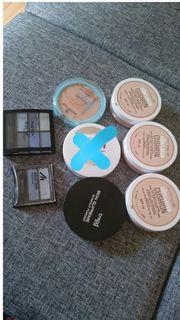 verschiedene Make-up Lidschatten neu