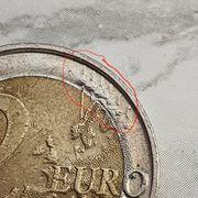 Helmut Schmidt 2-Euro-Münze Fehlprägung