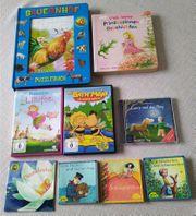 2 DVDs CD Puzzlebuch Prinzessinnengeschichten