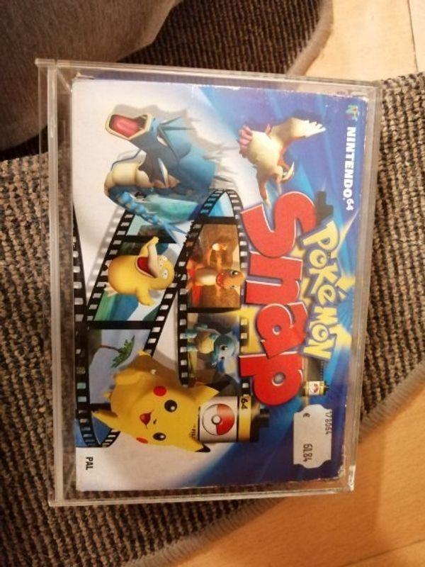 N64 Pokemon Snap Unbespielt in