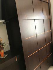Schlafzimmer Kleiderschrank Bett Doppelbett