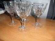 5 Villeroy Boch Gläser Bleikristall