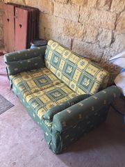 verschenke Couch mit Schlaffunktion