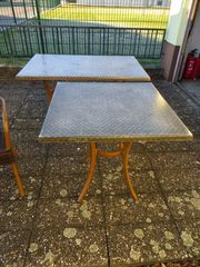 Terassentisch5x Gastronomie Tische zu verkaufen