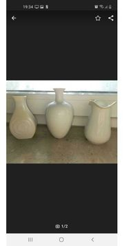 kleine weiße vasen