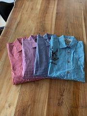 4x Stockerpoint Trachtenhemd Gr M