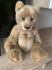 Charlie Bears Marke Geschenk Löwe