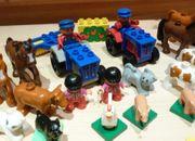 Lego Duplo Bauernhof Zubehör Pferde