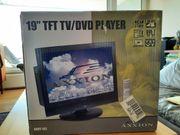 19 Zoll LCD-Fernseher mit DVD-Player und TV-Tuner