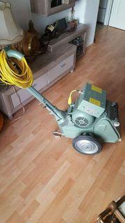 Wie Neue Bodenschleifmaschine Lägler Hummel