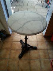 Bistrotisch Marmortisch rund