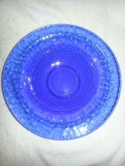 Blauglas Schüssel