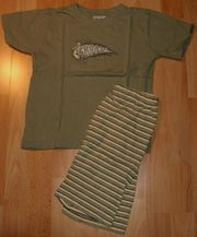 NEU - Sommer-Schlafanzug - Größe 116 - Pyjama -
