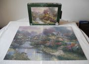Puzzle Lamplight Bridge Thomas Kinkade
