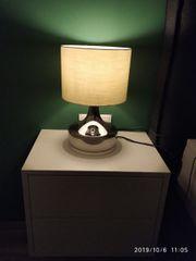 Stehlampe Nachttischlampe x2