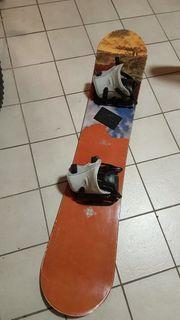 K2 Snowboard mit Bindung