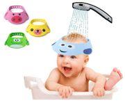 Kinder Duschkappe Baby Augenschutz Mütze