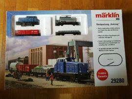 Modelleisenbahnen - Märklin Startpackung Autozug 29280 neuwertig