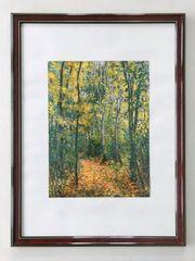 Kunstdruck Claude Monet mit edlem