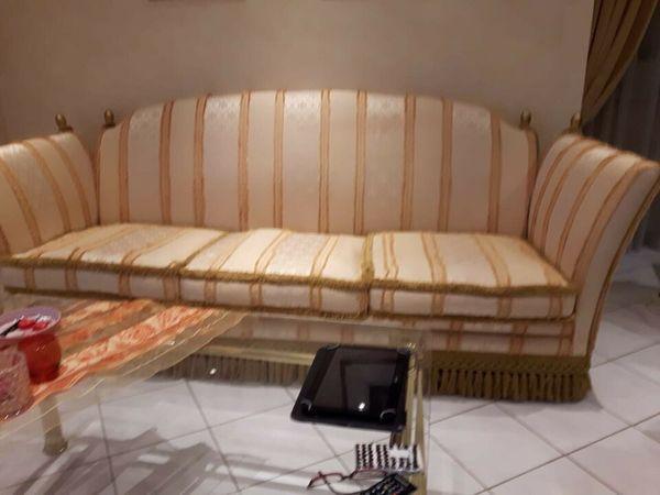 Wohnzimmercouch Italienische Stilmöbel 2-teilig