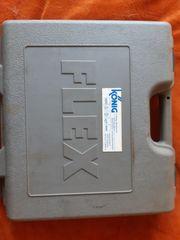 FLEX Akkubohrer Akkulampe Ladestation