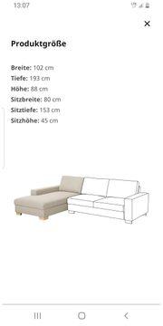 Sofa Récamiere Ikea Sörvallen