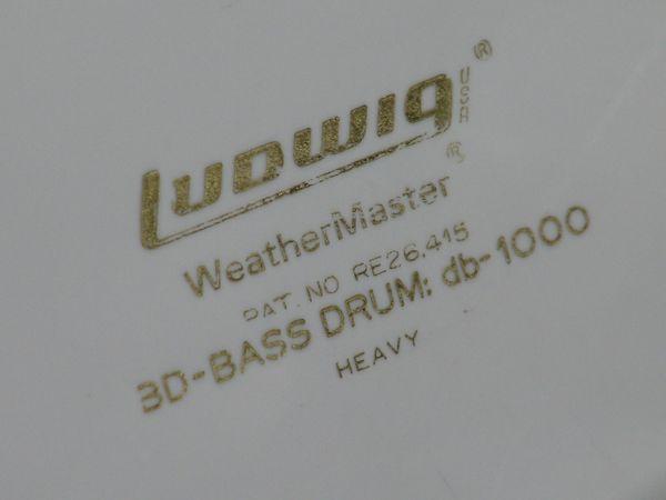 Schlagzeug Ludwig 22er Bass Drum