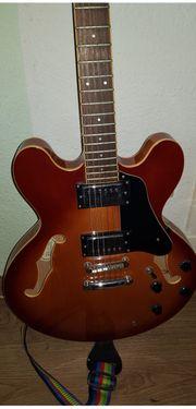 e Gitarre Samick Gitarre Model