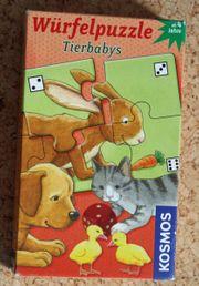 Würfelpuzzle Tierbabys Kosmos