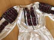 Altes ungarisches Kleid mit aufwendiger