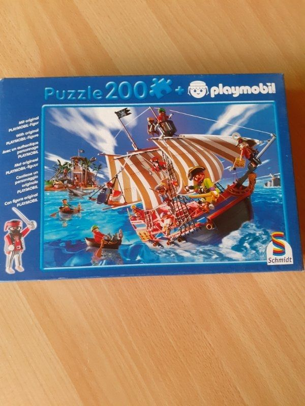 verkaufe Playmobil Puzzle 200