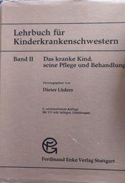 Fachbuch Kinderkrankenschwester 1972