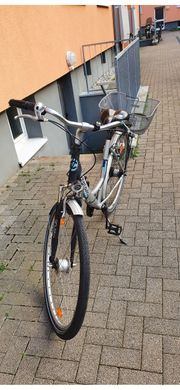 Damen Fahrrad silber 28 Zoll