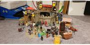 Playmobil Ritterburg mit viel Zubehörteilen