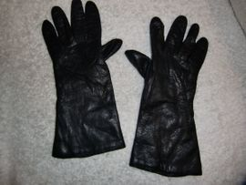 Damenbekleidung - Damen Leder Handschuhe Gr 7