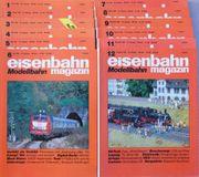 Eisenbahn Magazin Modellbahn Januar-Dezember 1990