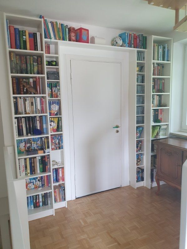 Regalwand Bücherregal CD-Regale