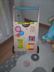 Lauflernwagen Holz Baby Kleinkind