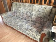 Couch Garnitur Schlafcouch inkl Sessel