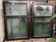 5 Holzfenster doppelt verglast