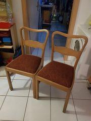 Schöne Stühle im Chippendale Stil