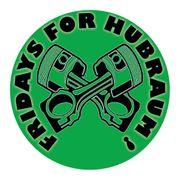 FRIDAYS FOR HUBRAUM - Aufkleber 10cm