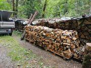 Trockenes Ofenfertiges Hartholz Mischholz zugeschnitten