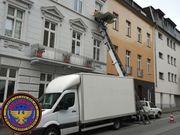 Entrümpelung Aachen mit Möbellift für