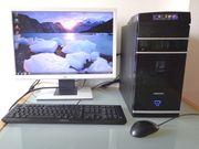 Desktop-PC komplett leistungsstark und zuverlässig