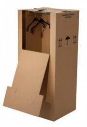 3 große Kleider-Umzugkartons