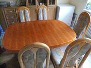 Verschenke Esstisch und 6 Stühle